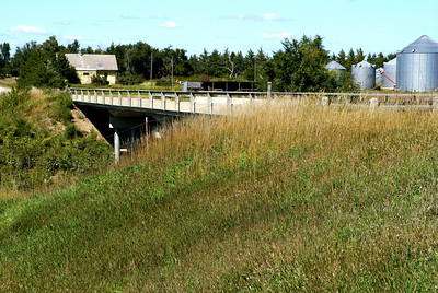 Bow Creek bridge - northwest Graham County