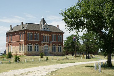 Butterfield Trail Museum in Russell Springs. Former county courthouse.