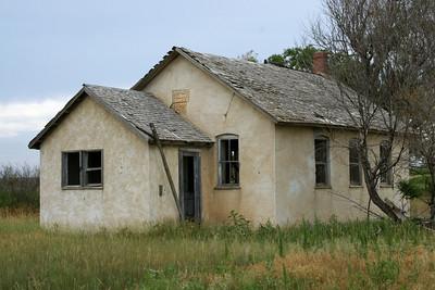 Abandoned 1888 school near Logan/Wallace county line