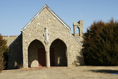 Abandoned church in Densmore
