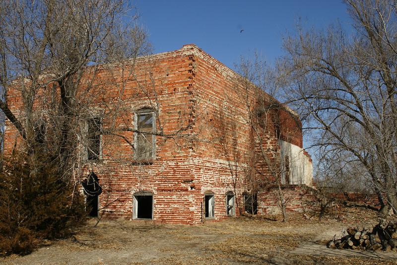 Abandoned school in Densmore