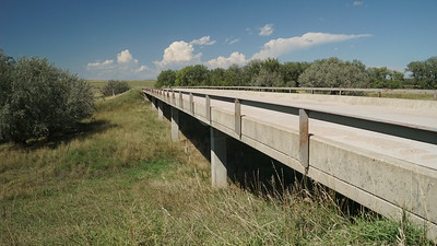 Beaver Creek bridge on Road 3, southwest Rawlins County