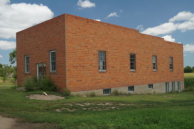 Former dance hall in Ludell