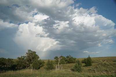 Thunderstorm seen from northwest Rawlins County