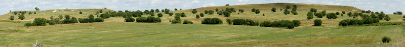 Twin Mounds - panoramic stitched photo of approximately 6 individual photos.