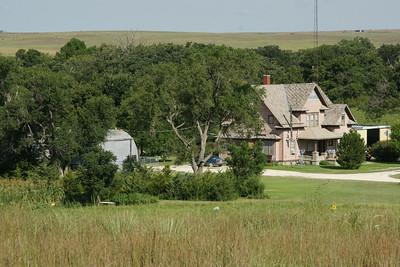 Farm along Medicine Creek south of Woodston