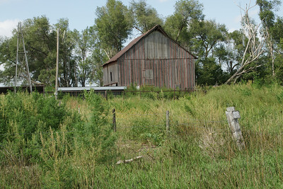 Barn in northern Rooks County