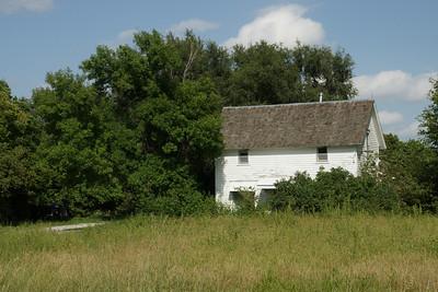 Barn near Bow Creek - Northern Rooks County