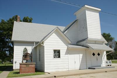 Methodist church in Woodston