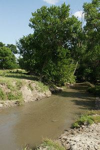Bow Creek - northern Rooks County
