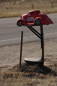 Hot Rod mailbox