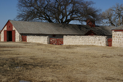 Stone Barn at Cottonwood Ranch near Studley