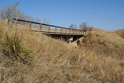 Bridge over SW Fork County Line Creek - eastern Sheridan County
