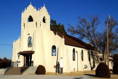 St Martin Catholic Church in Seguin