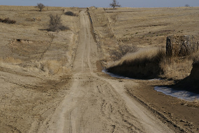 Rural road - northeast Sheridan County