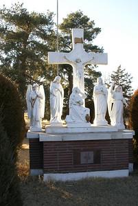 St Martin's Cemetery near Seguin