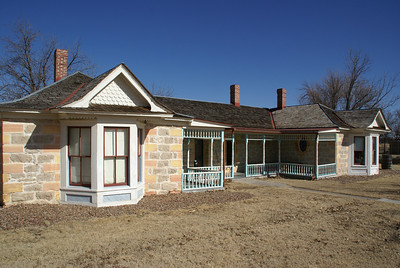 Cottonwood Ranch house near Studley