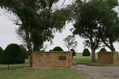 Weskan Cemetery entrance