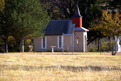 Wee Kirk of the Valley Chapel - southeast Cowley County