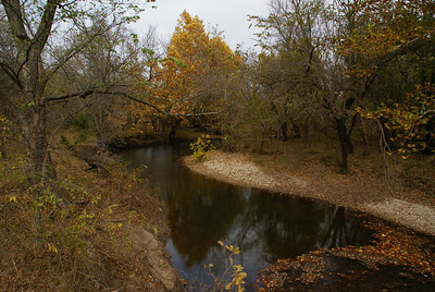 Fall at Big Badger Creek southeast of Winfield