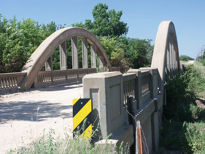 Marsh Arch bridge over Sand Creek near DuQuoin