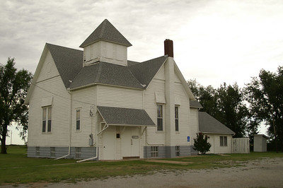 Historic Presbyterian Church in Freeport - Harper County