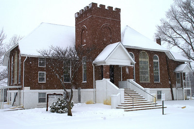 Methodist Church in Walton - eastern Harvey County
