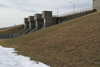 Spillway at Marion Lake Dam