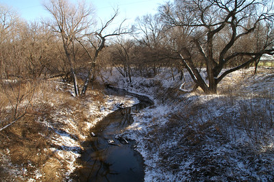Little Arkansas River - western McPherson County