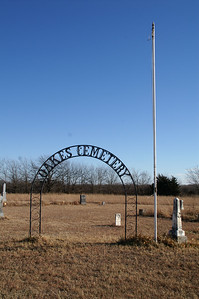 Oakes family Cemetery - eastern McPherson County