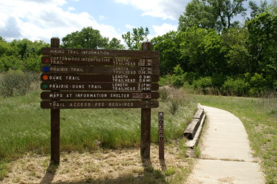 Entrance to Sand Hills State Park on 69th Ave