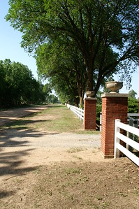 Entrance to Lerado Cemetery - Reno County
