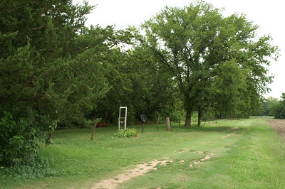 Cottonwood Cemetery / Stone Corral area along Little Arkansas River