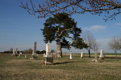 Mulkey Pioneer Cemetery - western Sedgwick County
