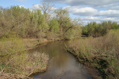 North Fork Ninnescah River - western Sedgwick County
