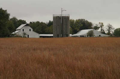 Farm buildings in northeast Stafford County
