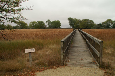 Nature trail at Quivira National Wildlife Refuge