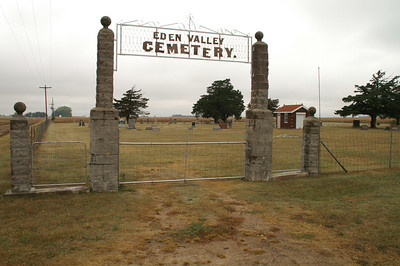 Eden Valley Cemetery - northwest Stafford County