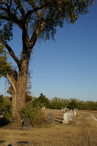 Gueda Springs Cemetery north of town
