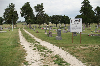 Elsmore Cemetery - eastern Allen County