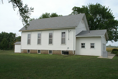Salem Methodist church southwest of Iola