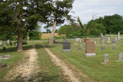 Leanna Cemetery on Allen/Neosho county line