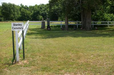 Stanley family Cemetery - eastern Allen County