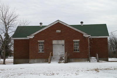 Abandoned School in Pawnee Station