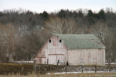 Barn along Dyer Creek - Bourbon County
