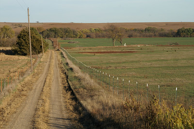 Diamond Creek Cemetery area - northwest Chase County