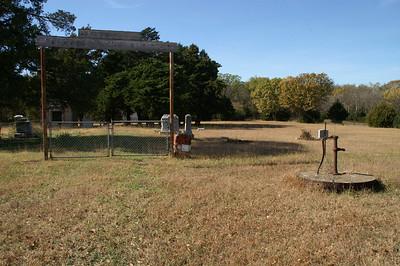 Cedar Township Cemetery south of Cedar Point