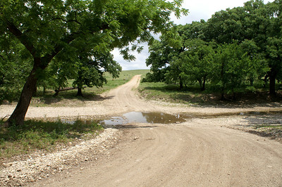 Camp Creek crossing near North Branch Verdigris River - southeast Chase County