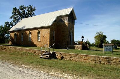 Stone Baptist Church in the town of Chautauqua