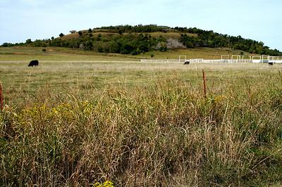 Lookout Mountain southwest of Cedar Vale
